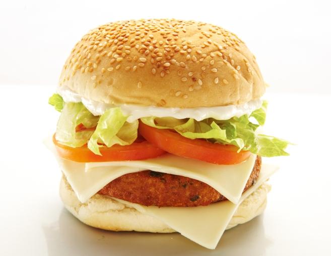 Sanduíche do Vegan Burger (Divulgação)