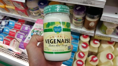 Outra maionese sem ovos facilmente encontrada em mercados naturais ou convencionais nos EUA