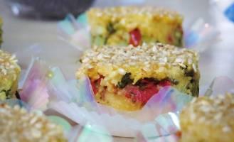 Um dos pratos da ceia de Natal do Shanti Vegetariano