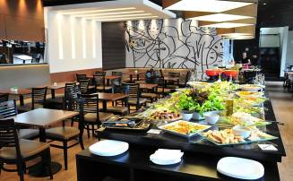 O restaurante Nutrisom, no viaduto 9 de julho (centro de SP)